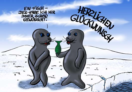 Geburtstag Cartoon