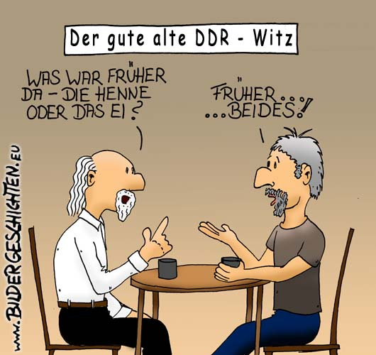 DDR Witz Cartoon