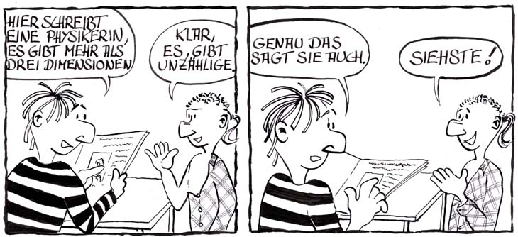 Physik-Comic